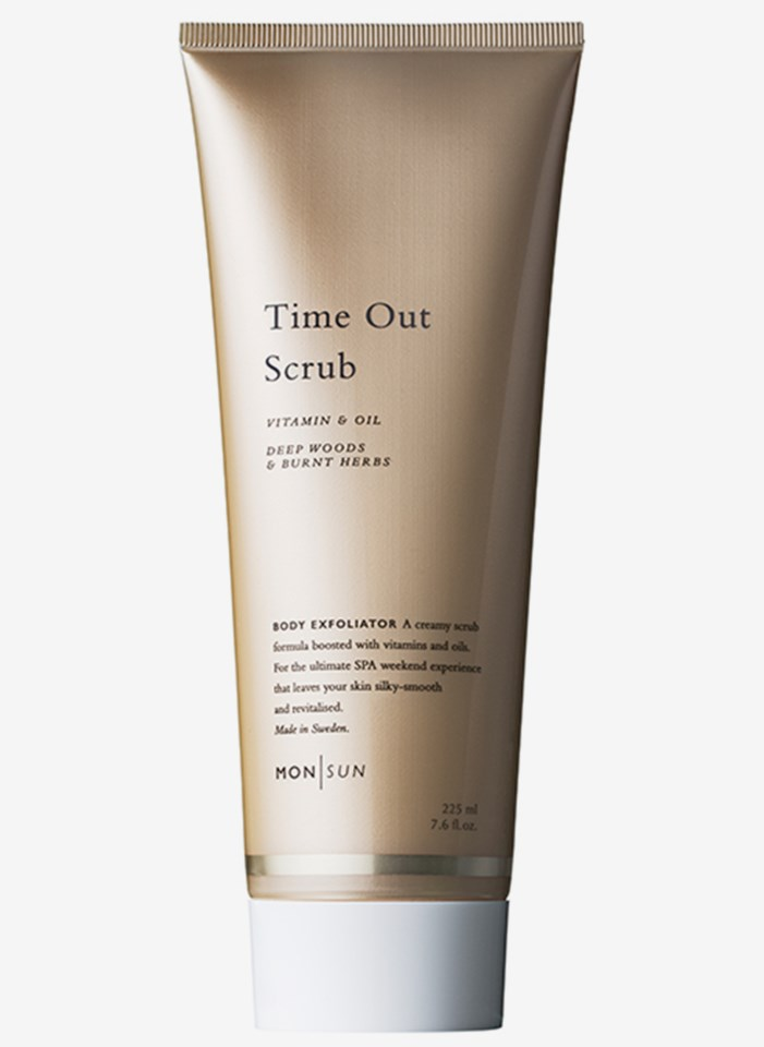 Time Out Scrub Vitamin & Oil Body Exfoliator 225 ml