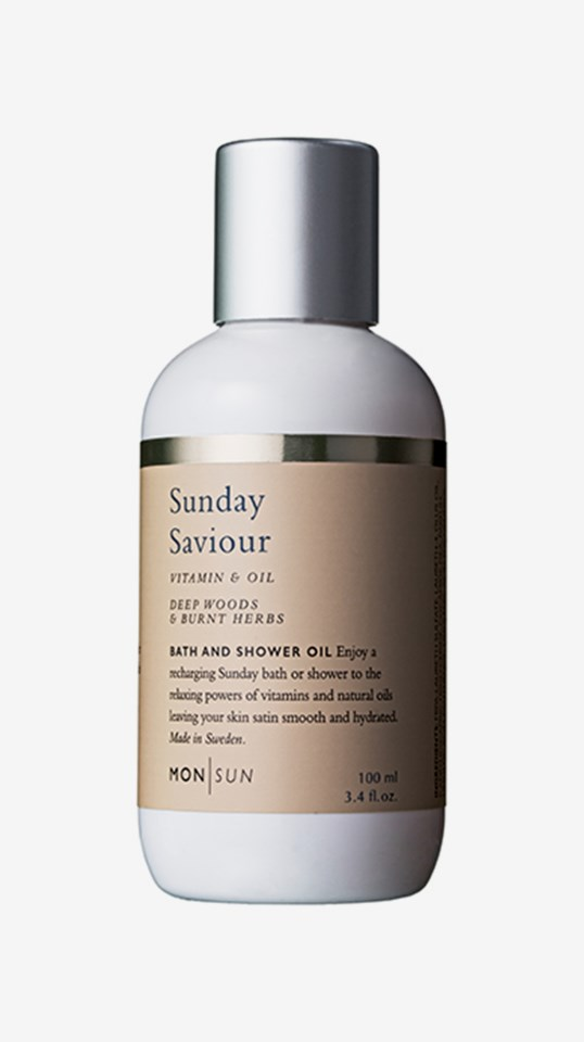 Sunday Saviour Vitamin & Oil Bath & Shower Oil 100 ml