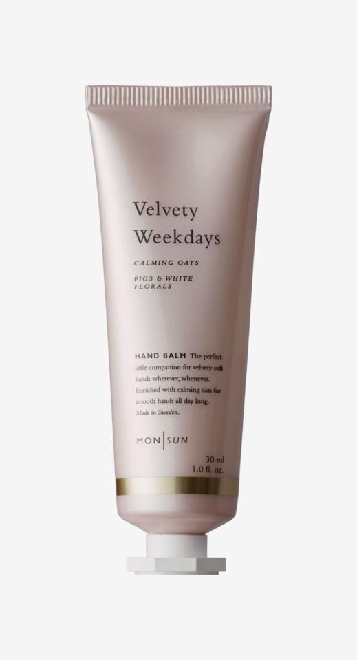 Velvety Weekdays Calming Oats Hand Balm 30ml