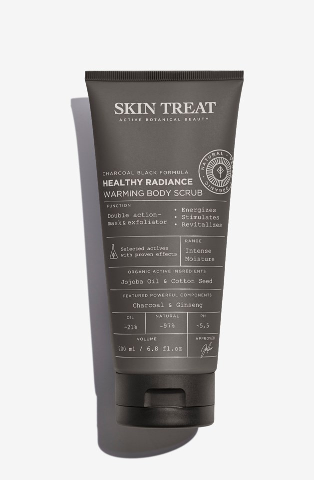Healthy Radiance Warming Body Scrub
