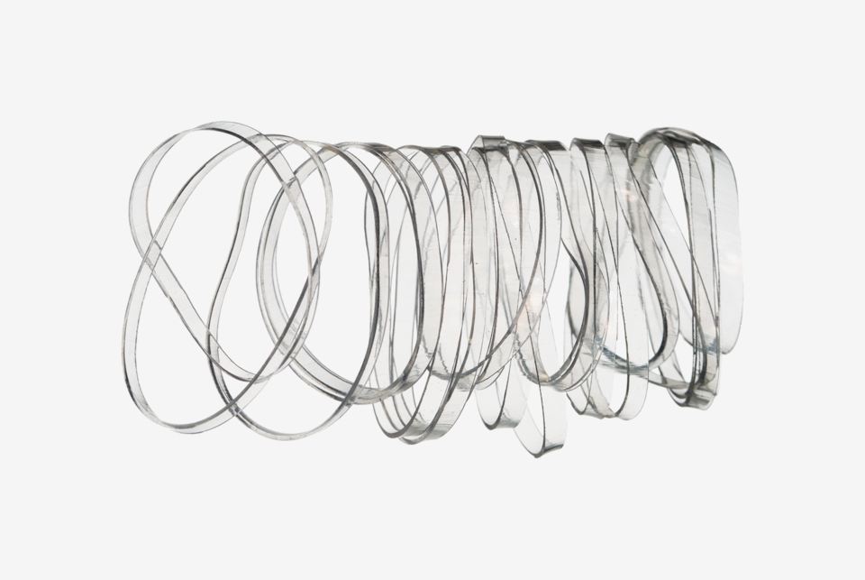 Mini Elastics Clear 20-pack