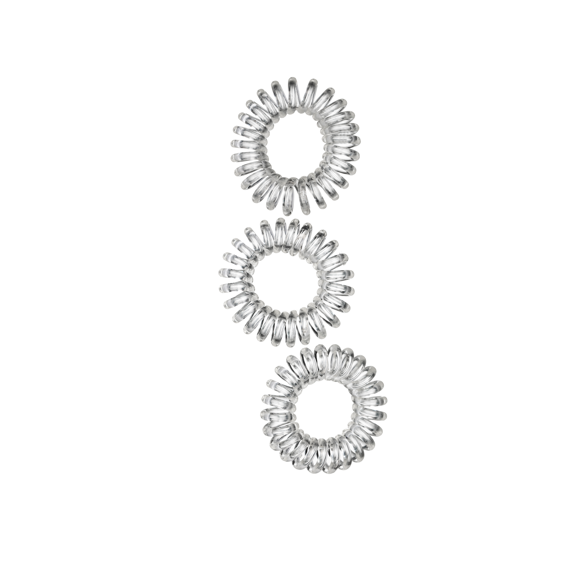 Hair Bobble Clear 3-pack
