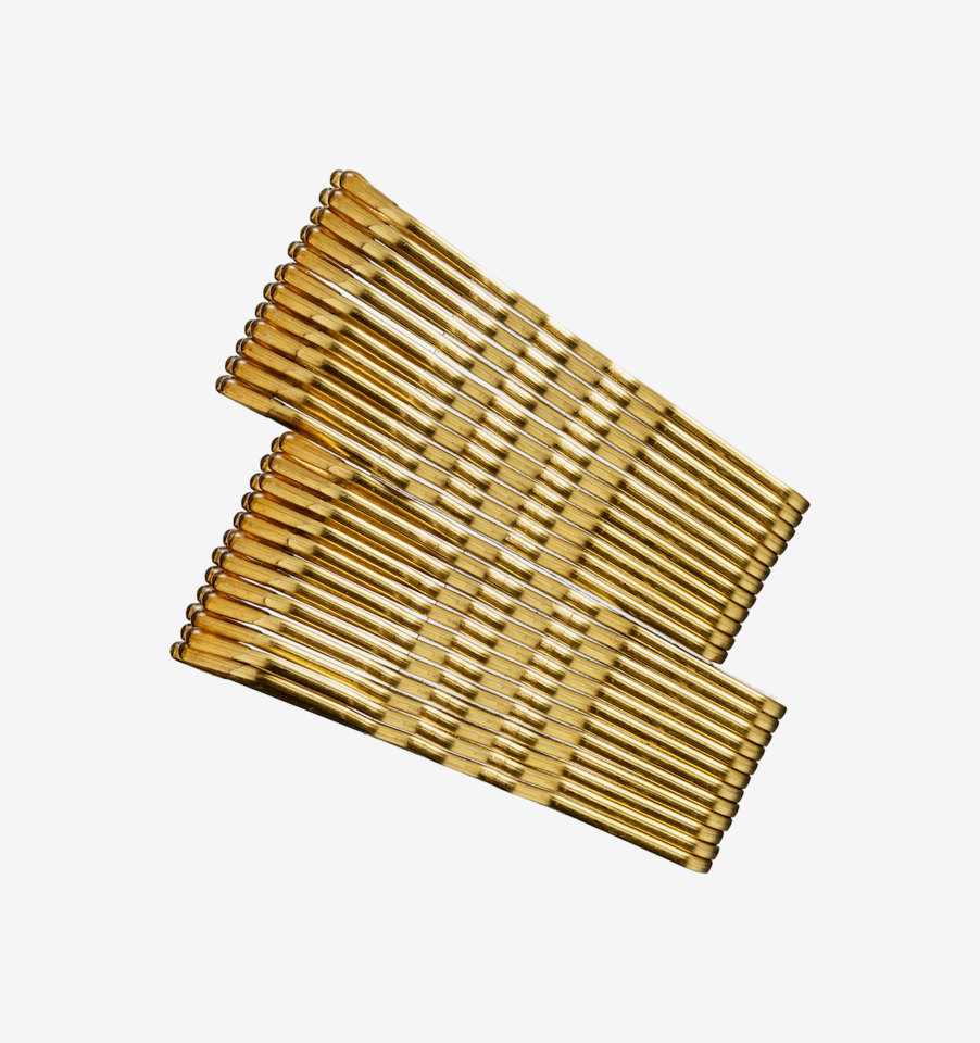 Hair Pin Blonde 24-pack