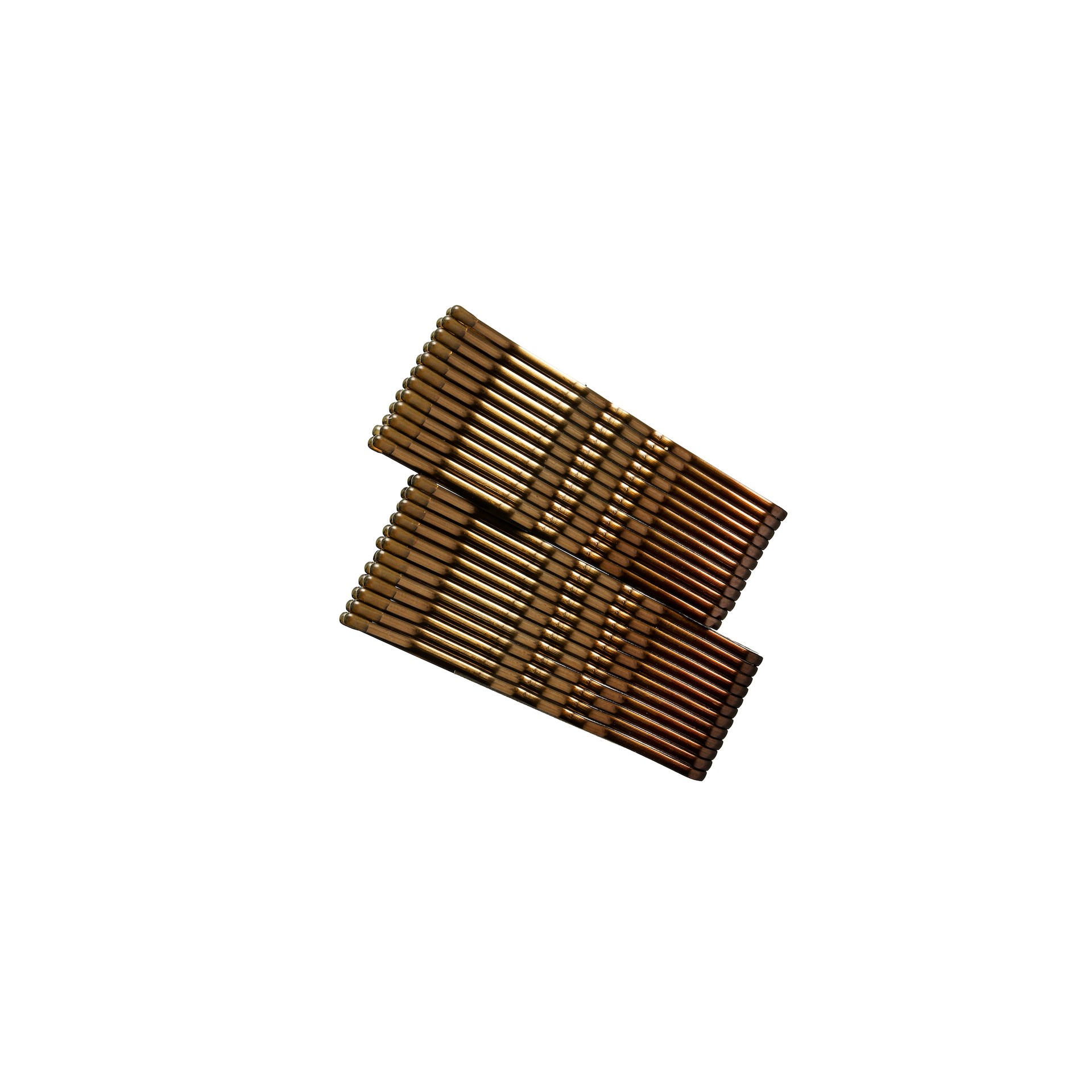 Hair Pin Brown 24-pack
