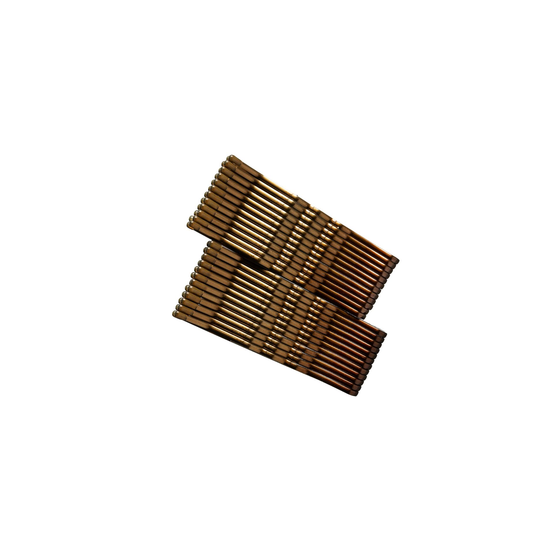 Hair Pin Brown 24-pack
