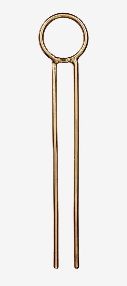 Large Hair Pin Gold