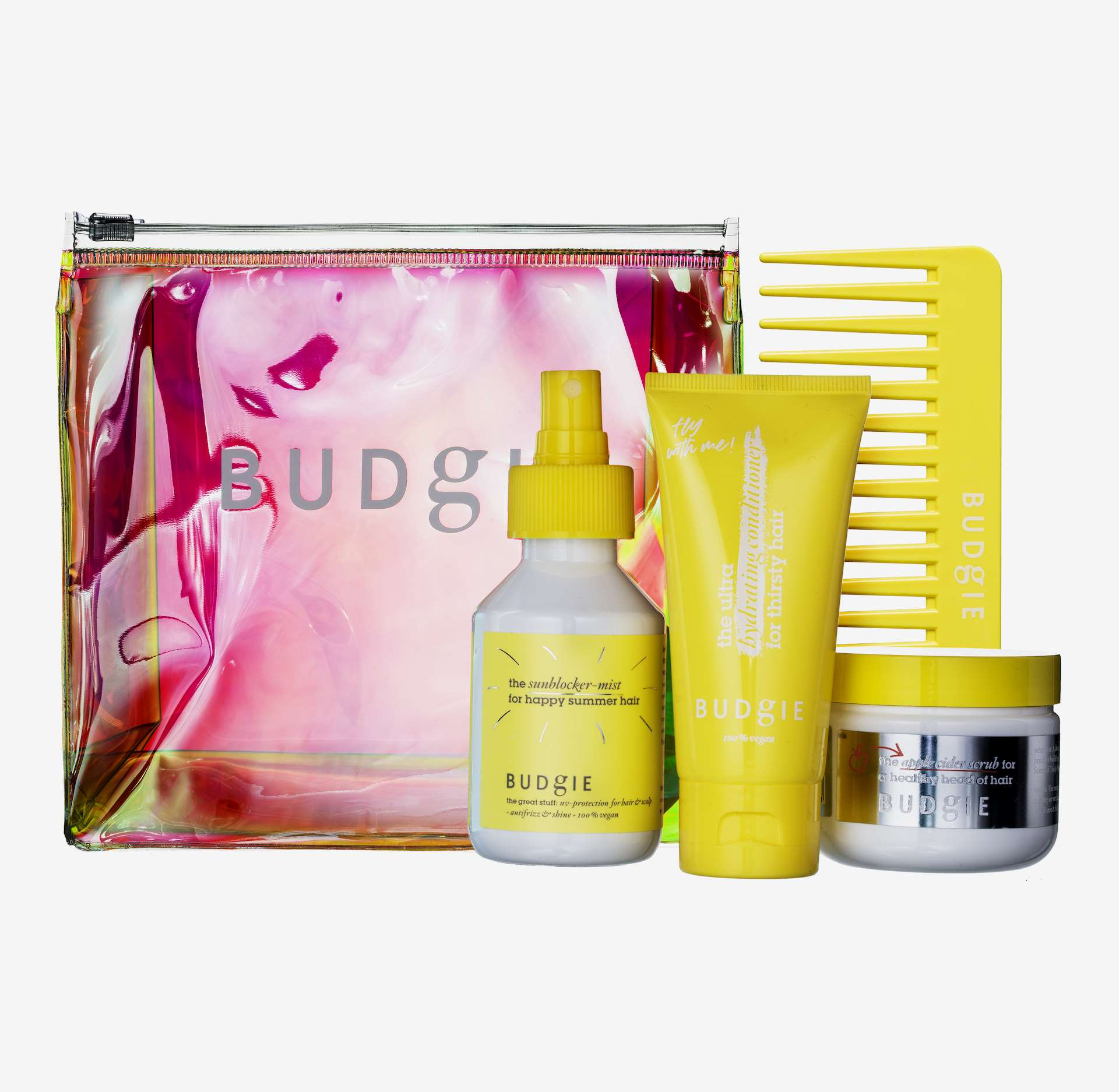 The Essential Summer Kit 60ml, 100ml, 100ml - BUDGIE - KICKS