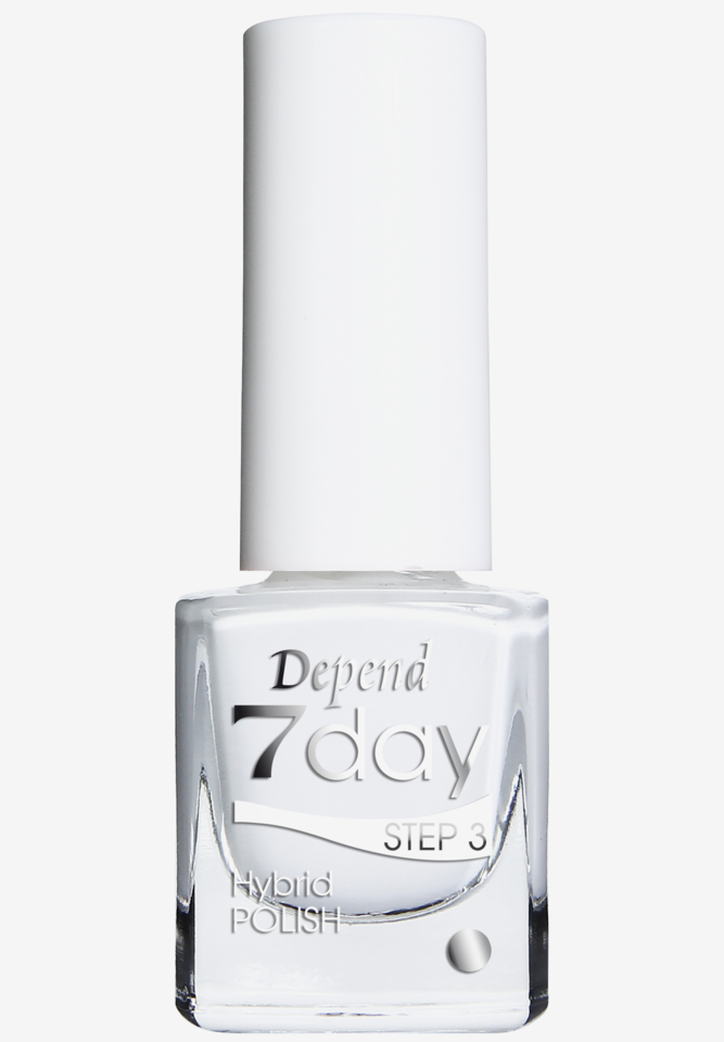7 Day Hybrid Nailpolish 7005 Pure White
