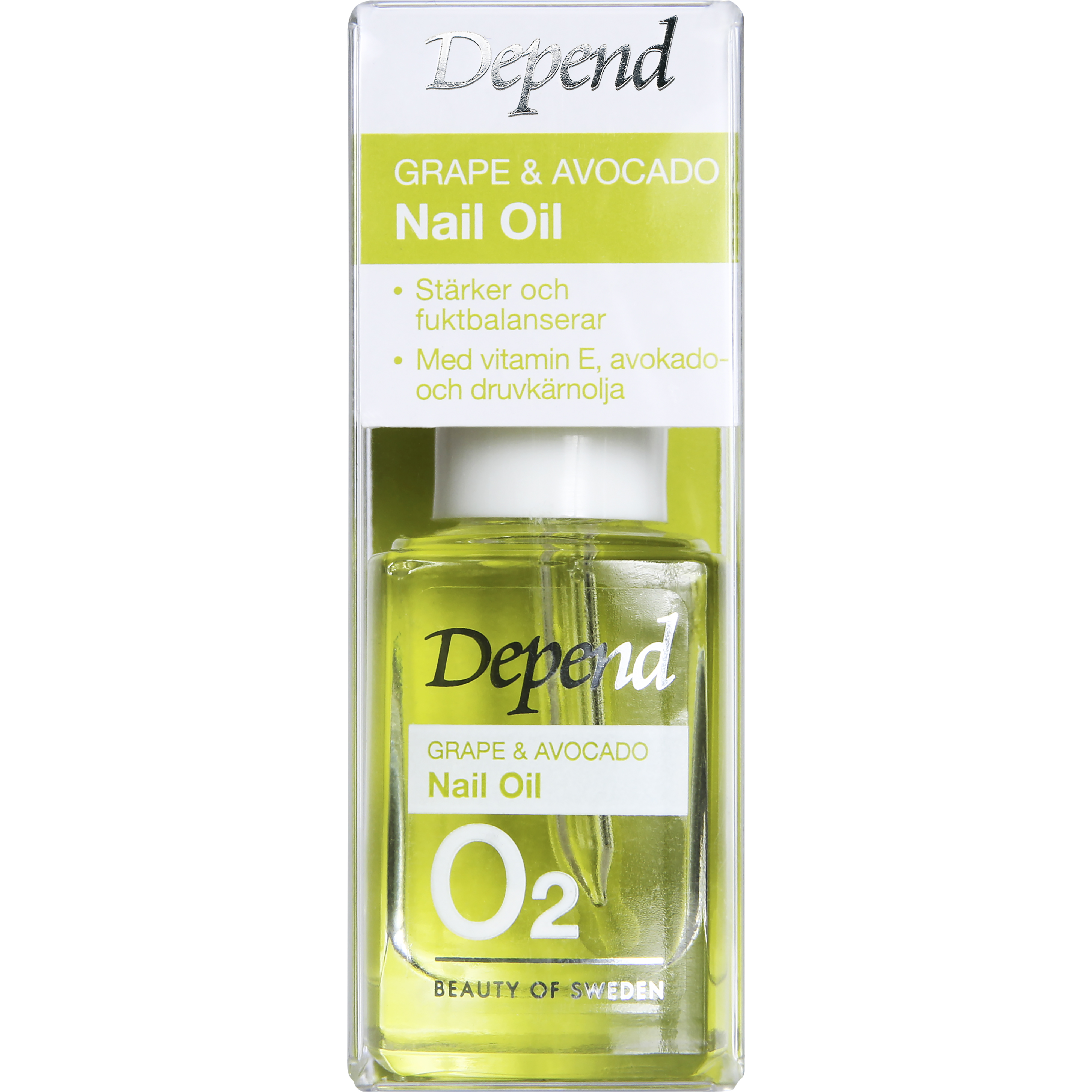 Grape & Avocado Nail Oil