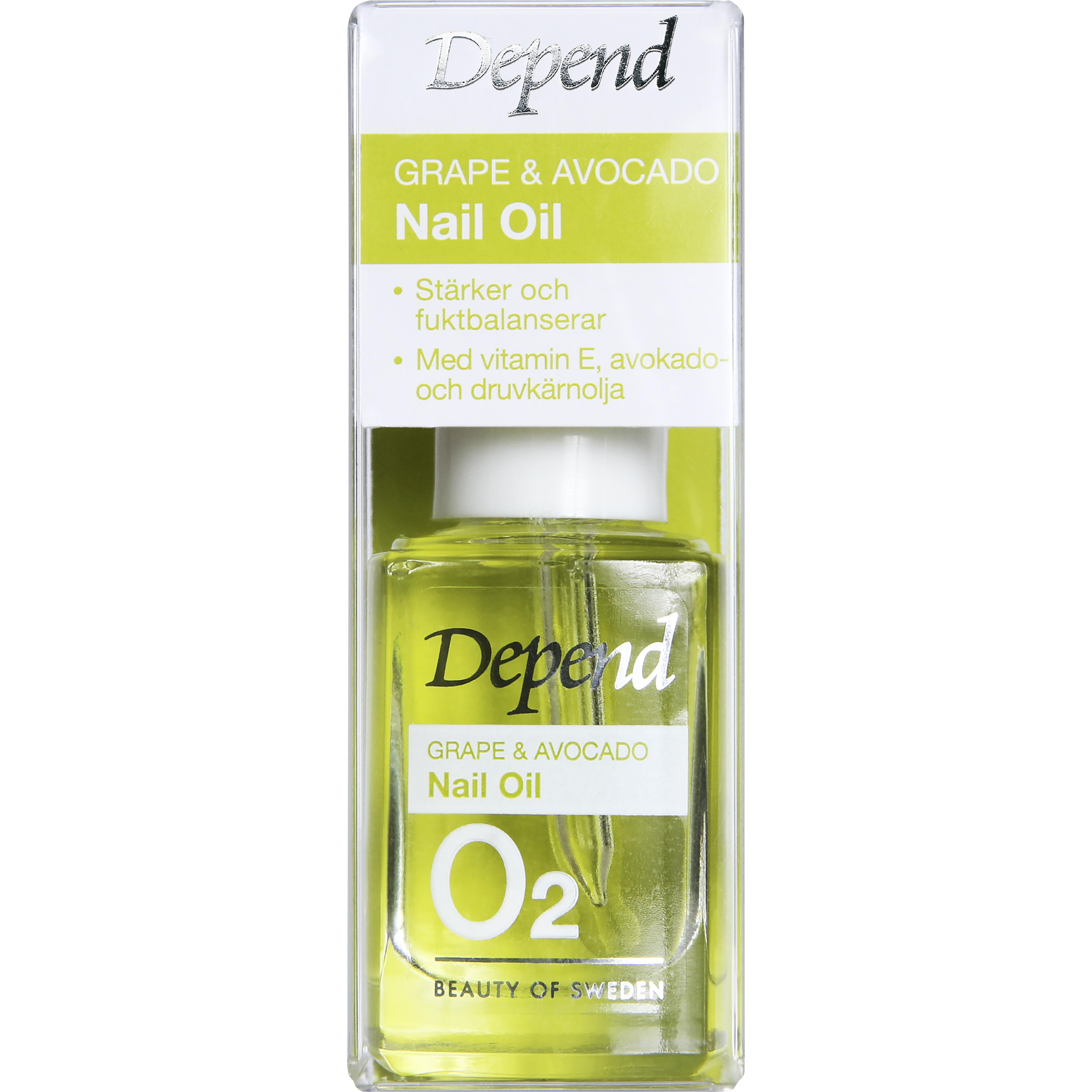 Depend Grape & Avocado Nail Oil