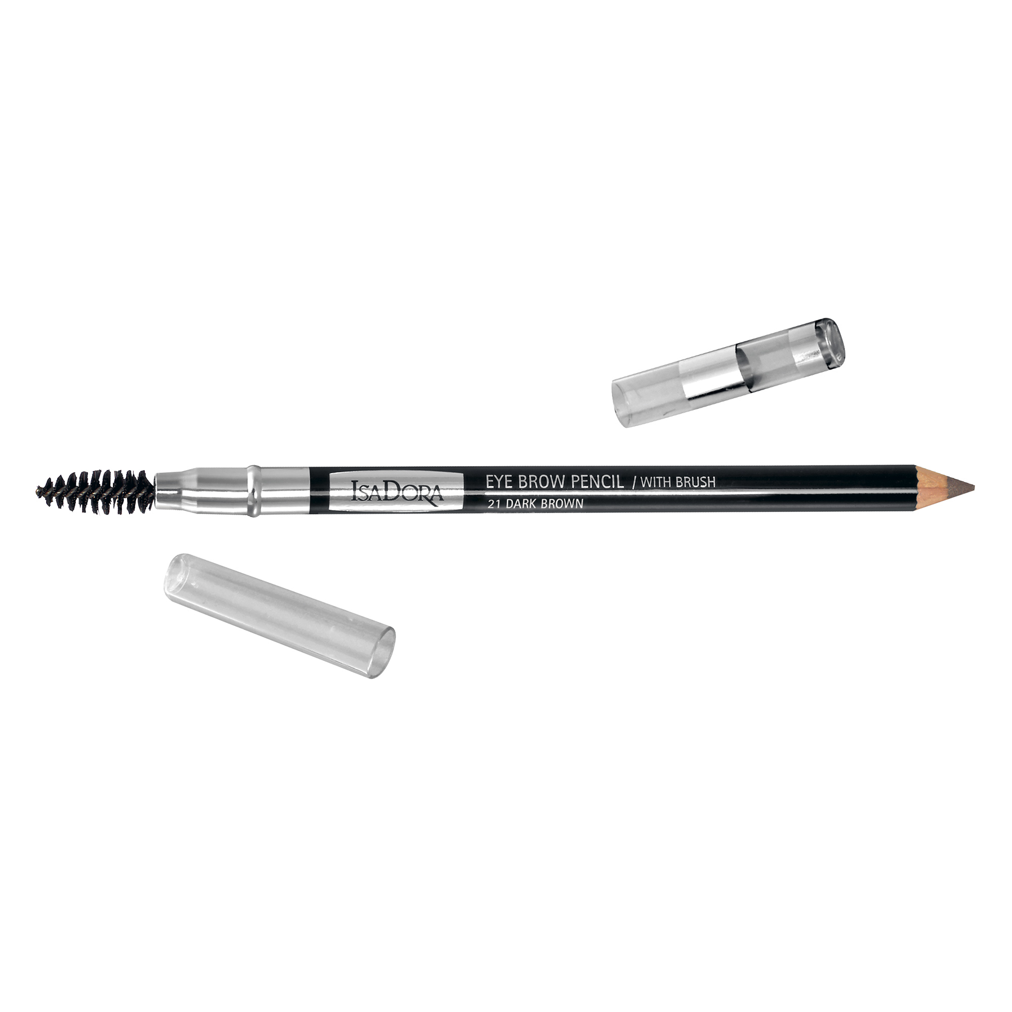 Eye Brow Pencil with Brush 21 Dark Brown