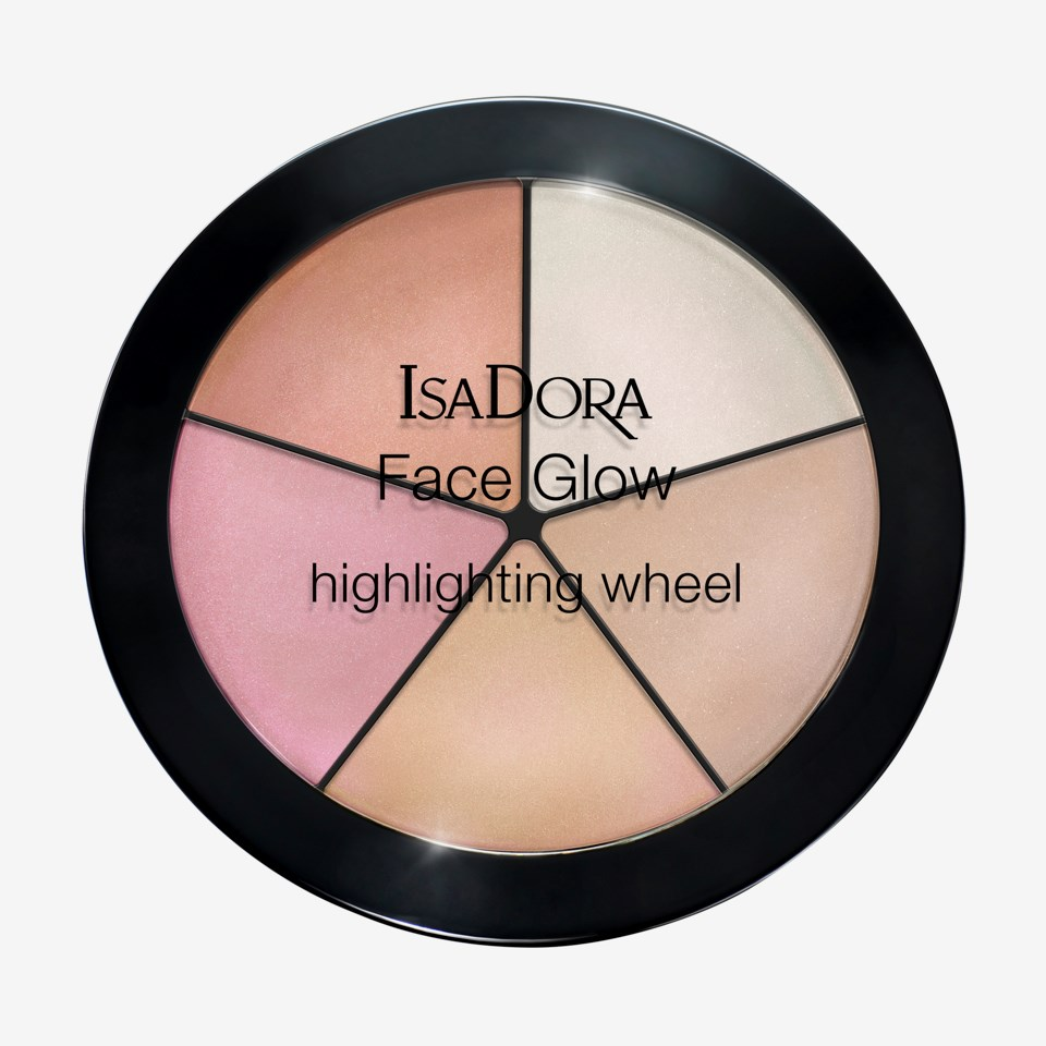 Face Glow Highlighting wheel 51 Champange Glow