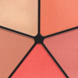 Blush & Glow Draping Wheel 57 Peach Me