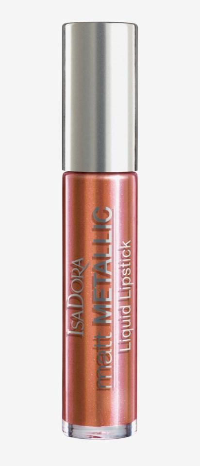 Matt Metallic Liquid Lipstick 89 Copper Crush