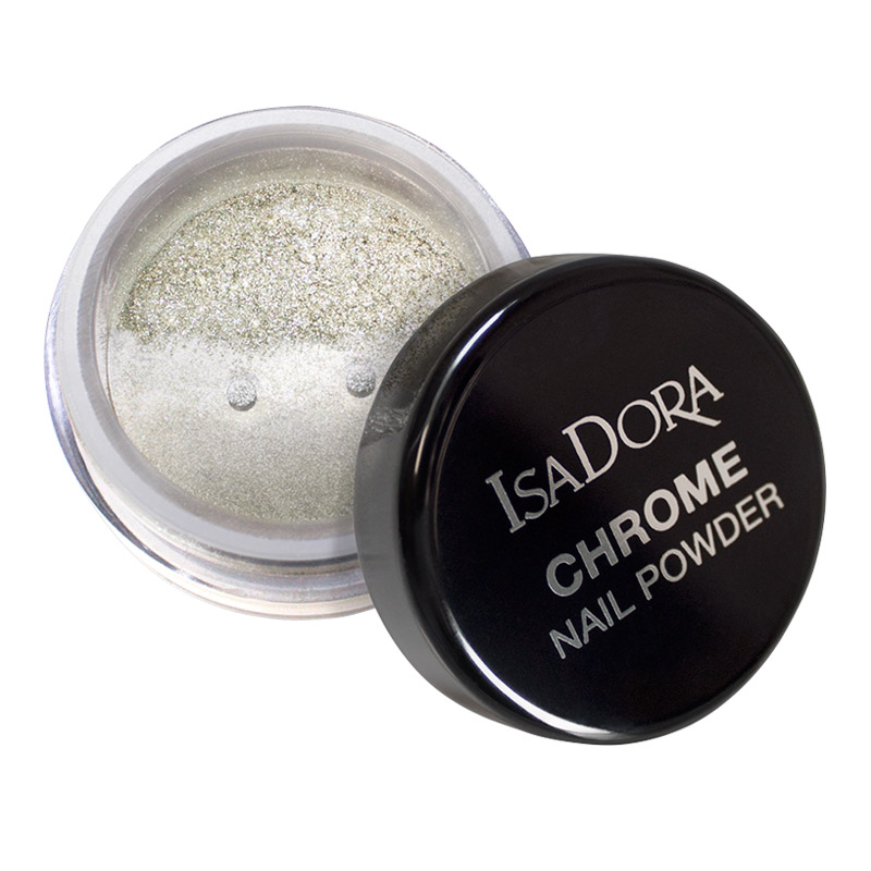 Chrome Nail Powder 10 Mirror Silver