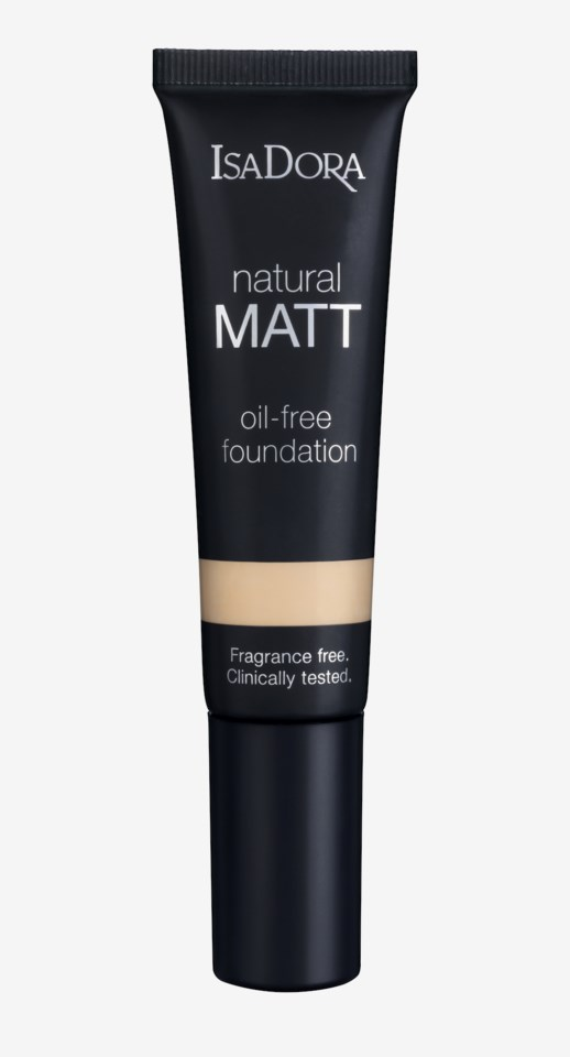 Natural Matt Oil-Free Foundation 10 Matt Porcelain