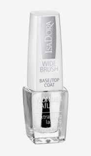 Wonder Nail Wide Brush Base/Top Coat 600 Clear