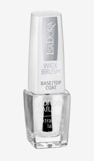 Wonder Nail Wide Brush Base/Top Coat 600Clear