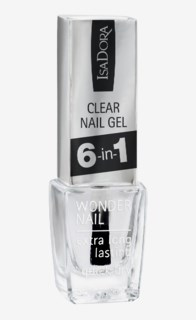 Wonder Nail Wide Brush Clear 6-in-1 697 Clear 6-in-1
