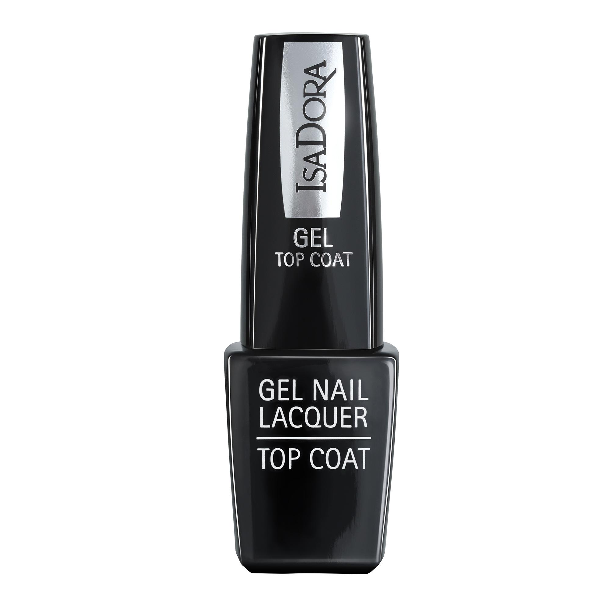 isadora gel nail lacquer top coat