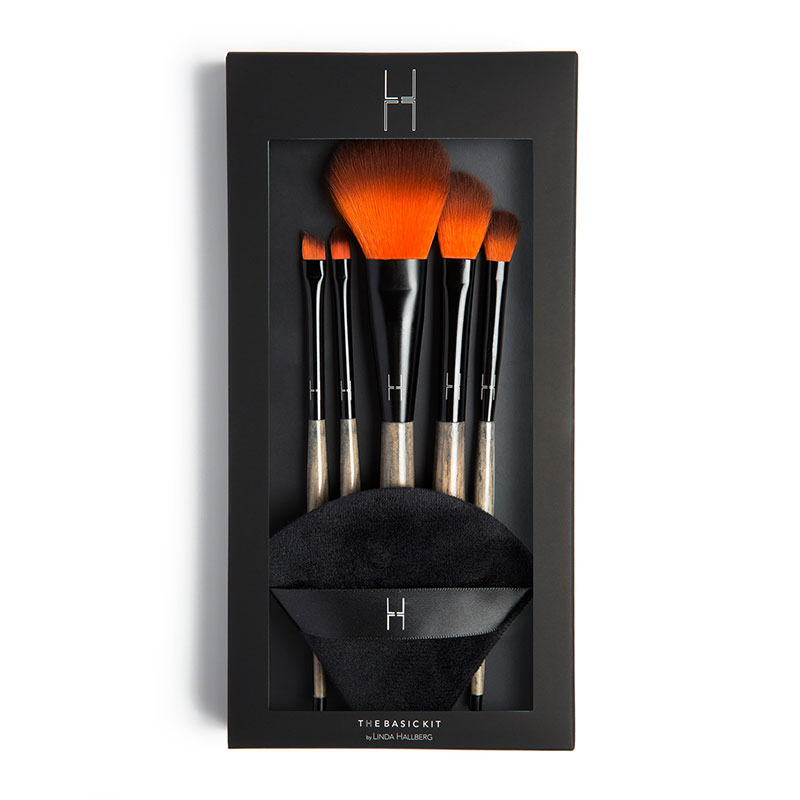 Basic Kit Makeup Brushes