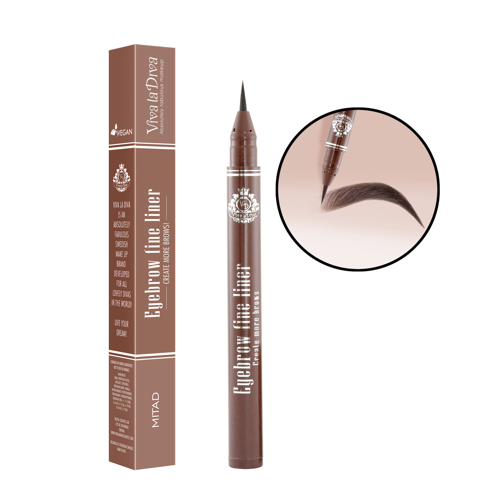 Eyebrow Fine Liner Pen