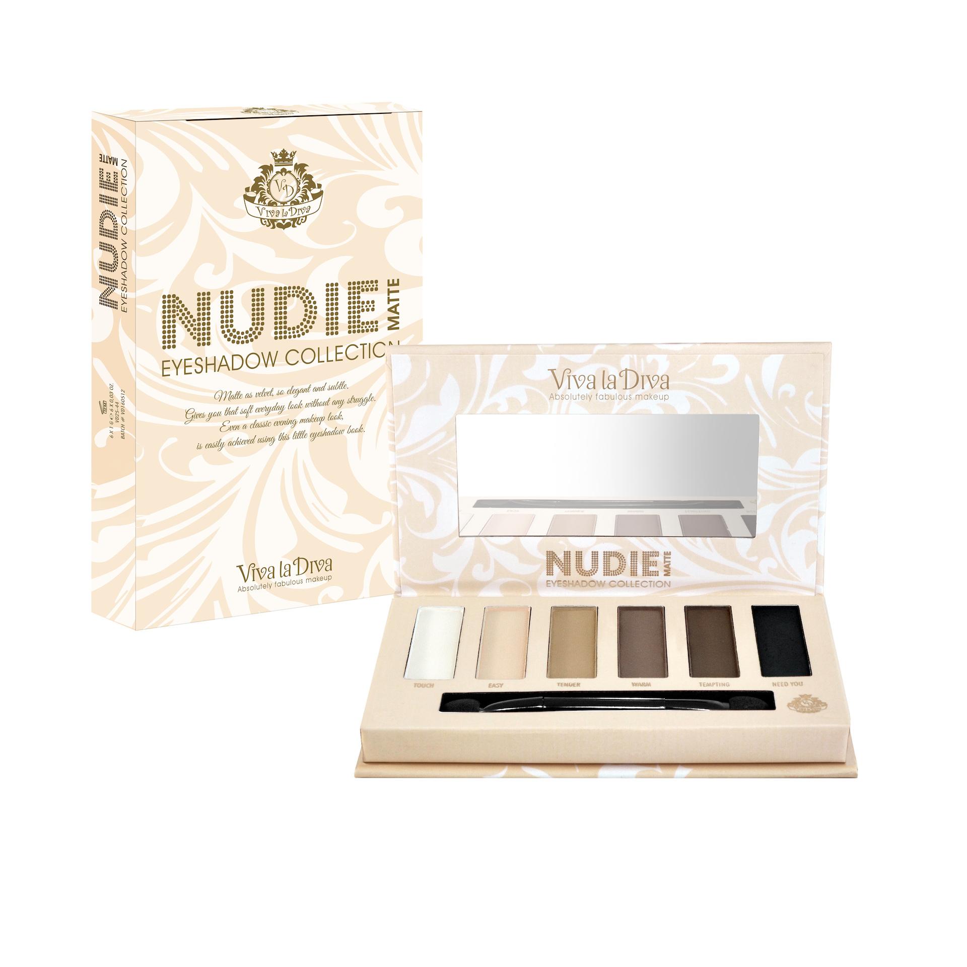 Nudie Matte Eyeshadows