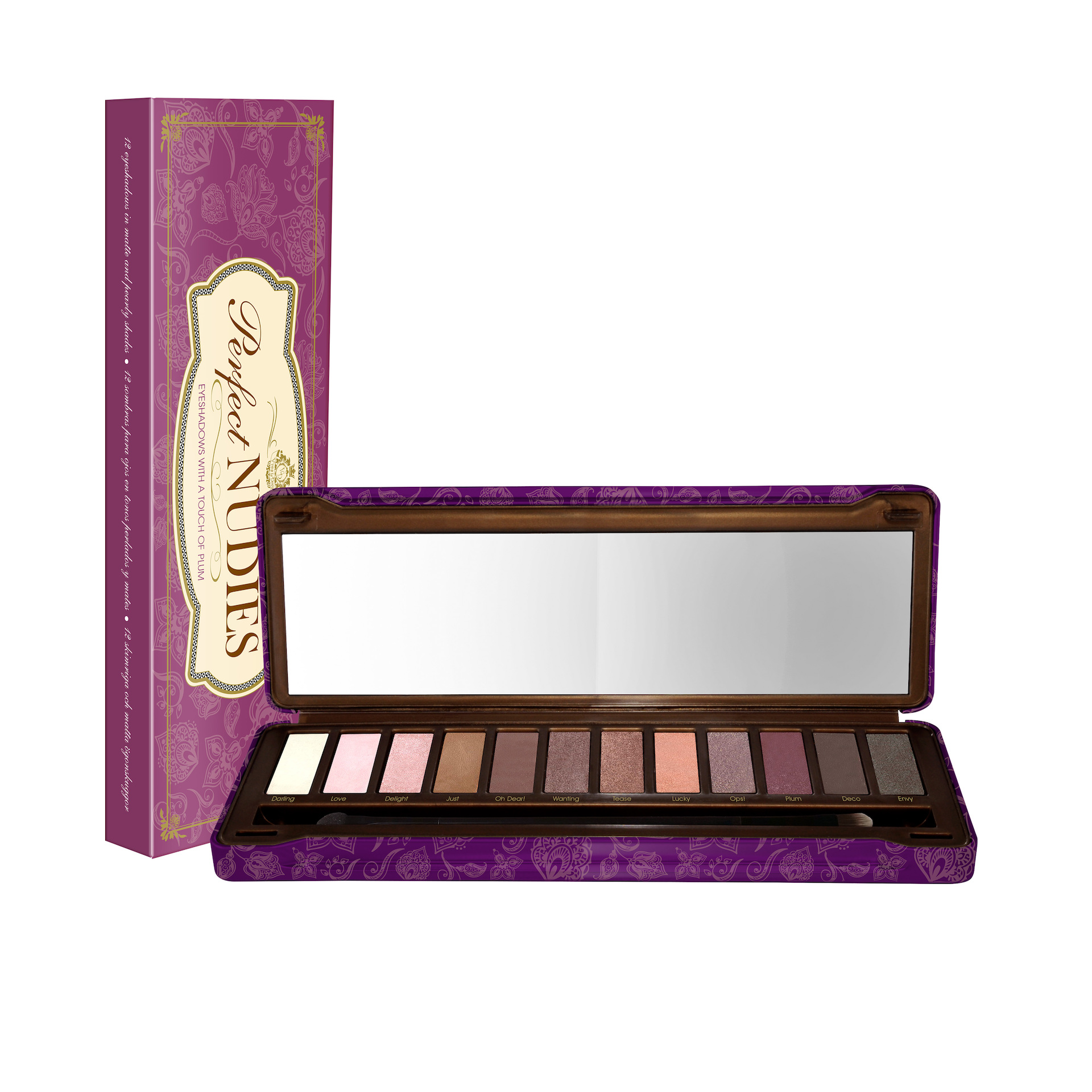 Perfect Nudies - Eyeshadows WIth A Touch Of Plum Perfect Nudies - Eyeshadows With A Touch Of Plum