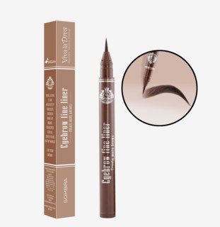 Eyebrow Fine Liner Pen Sombra