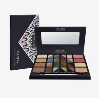 Vanity palette - Highlight, Contour & Eyeshadows