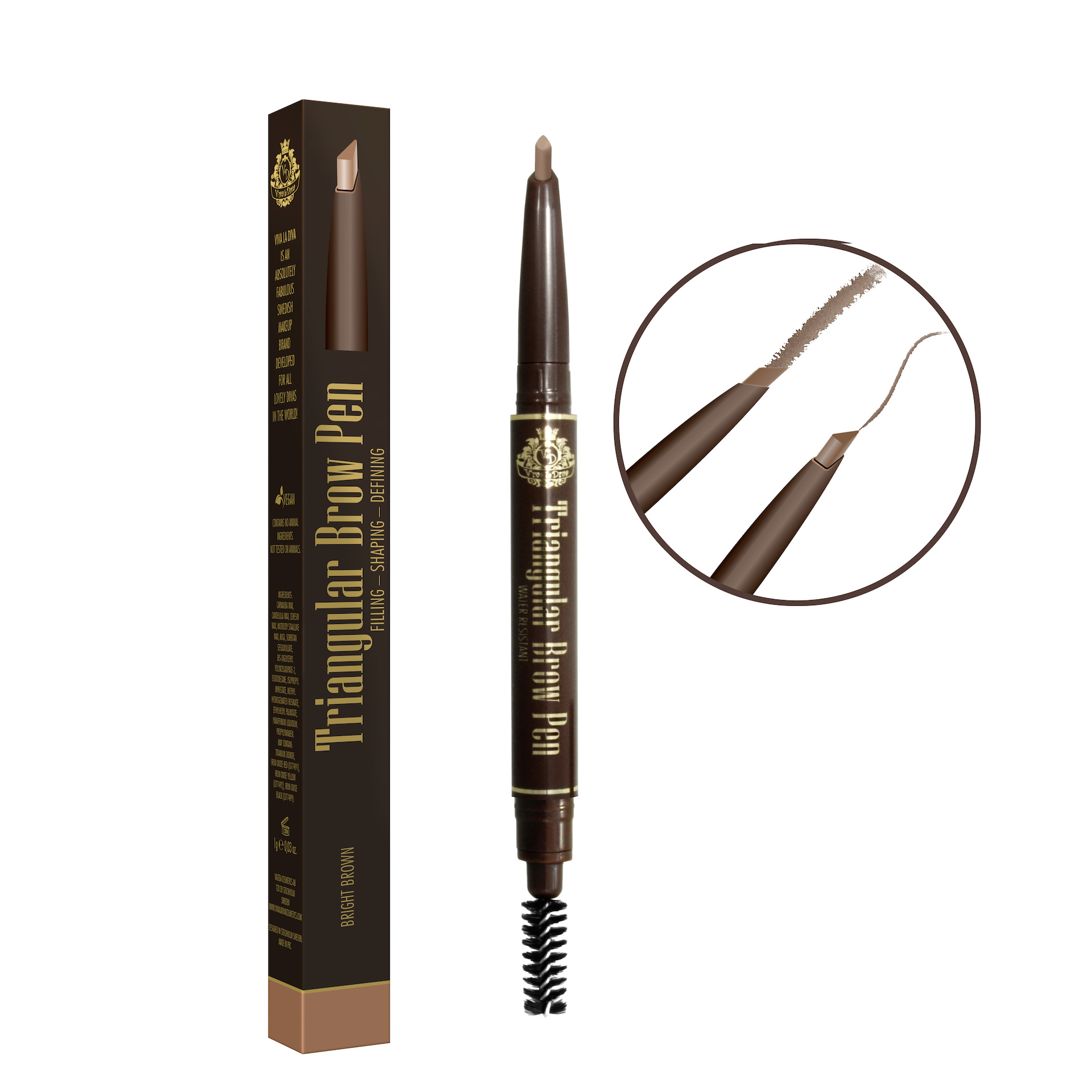 Triangular Brow Pen
