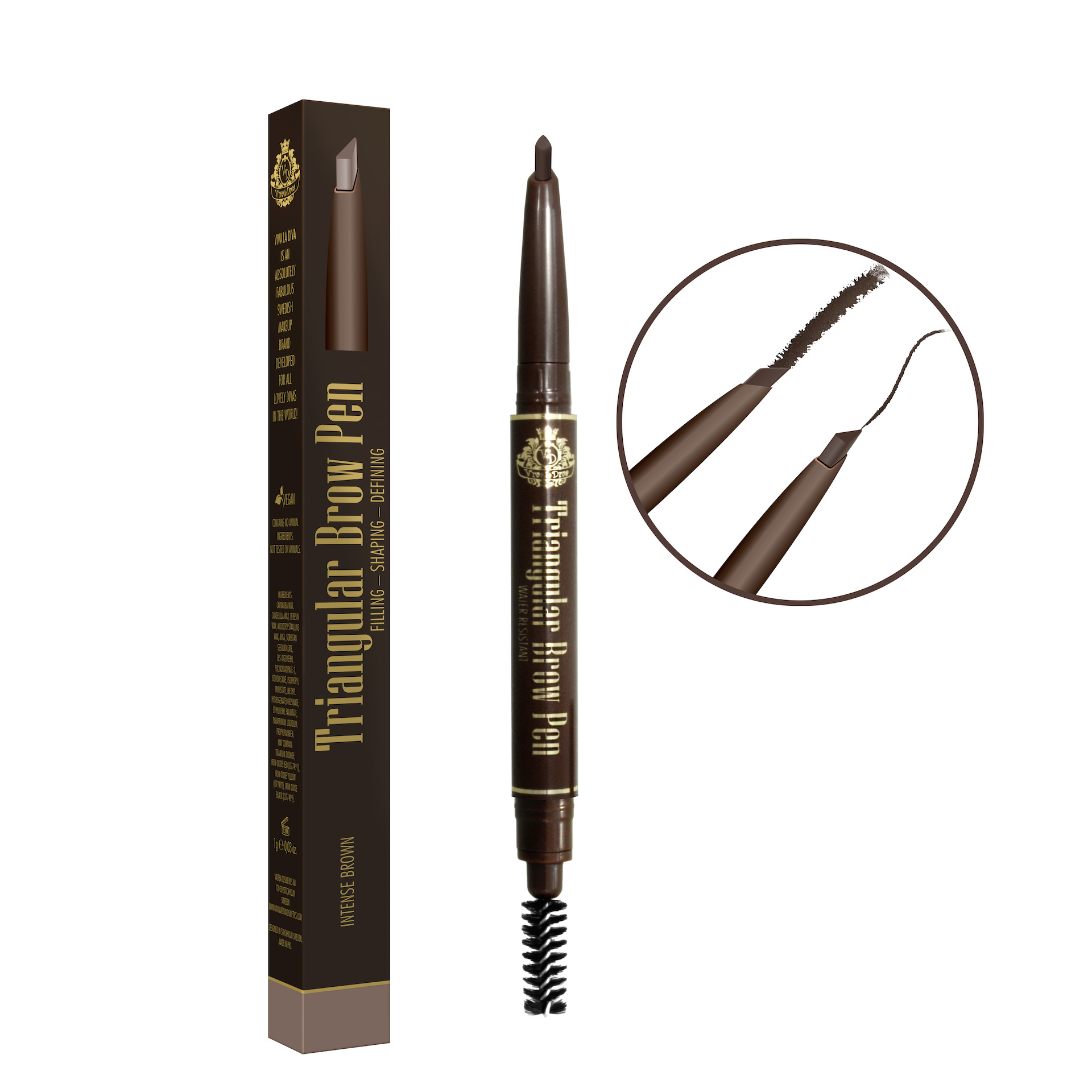 Triangular Brow Pen 42 Medium/Dark