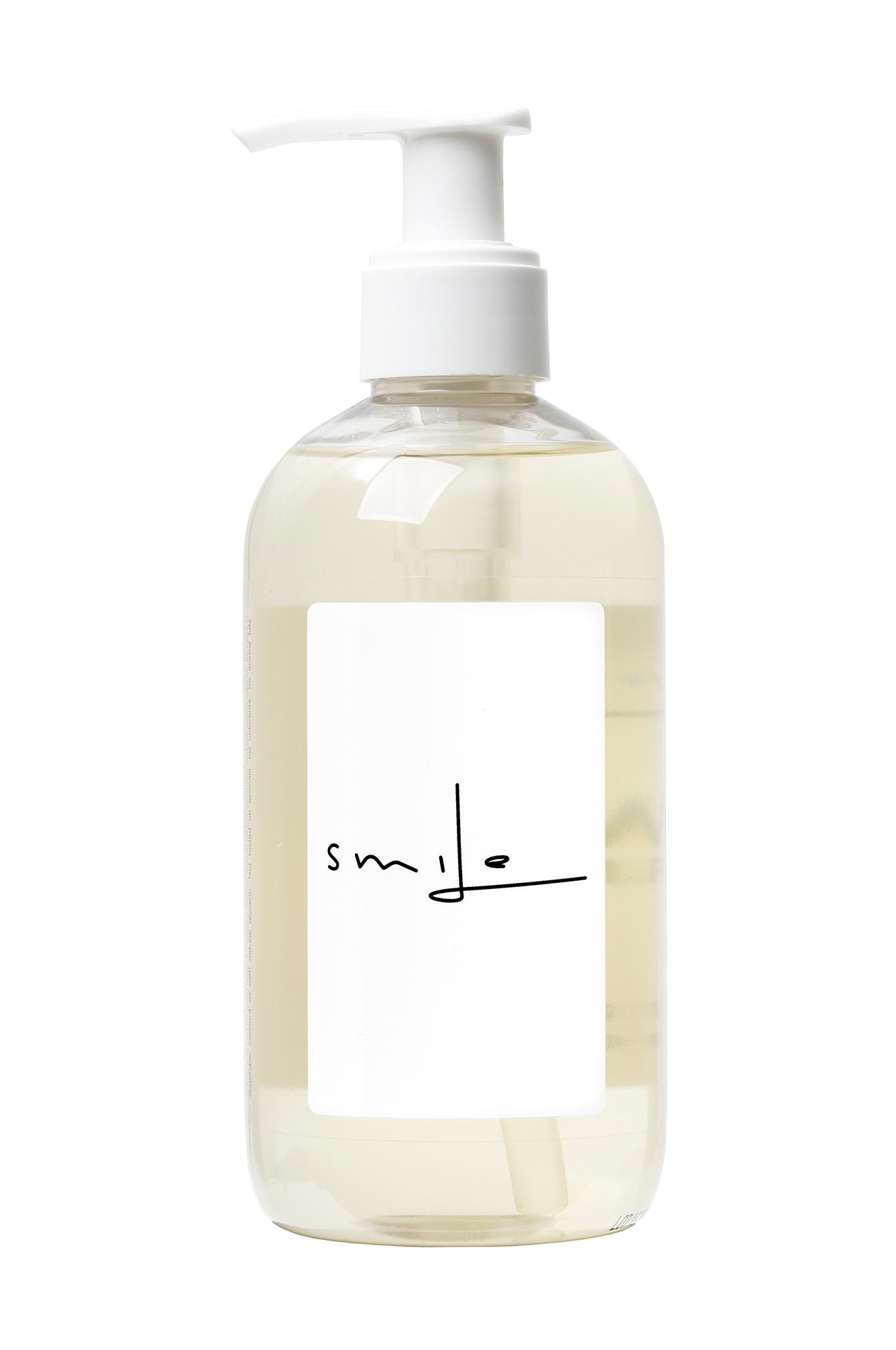 "Savon Words White ""Smile"" Liquid Soap 300ml"