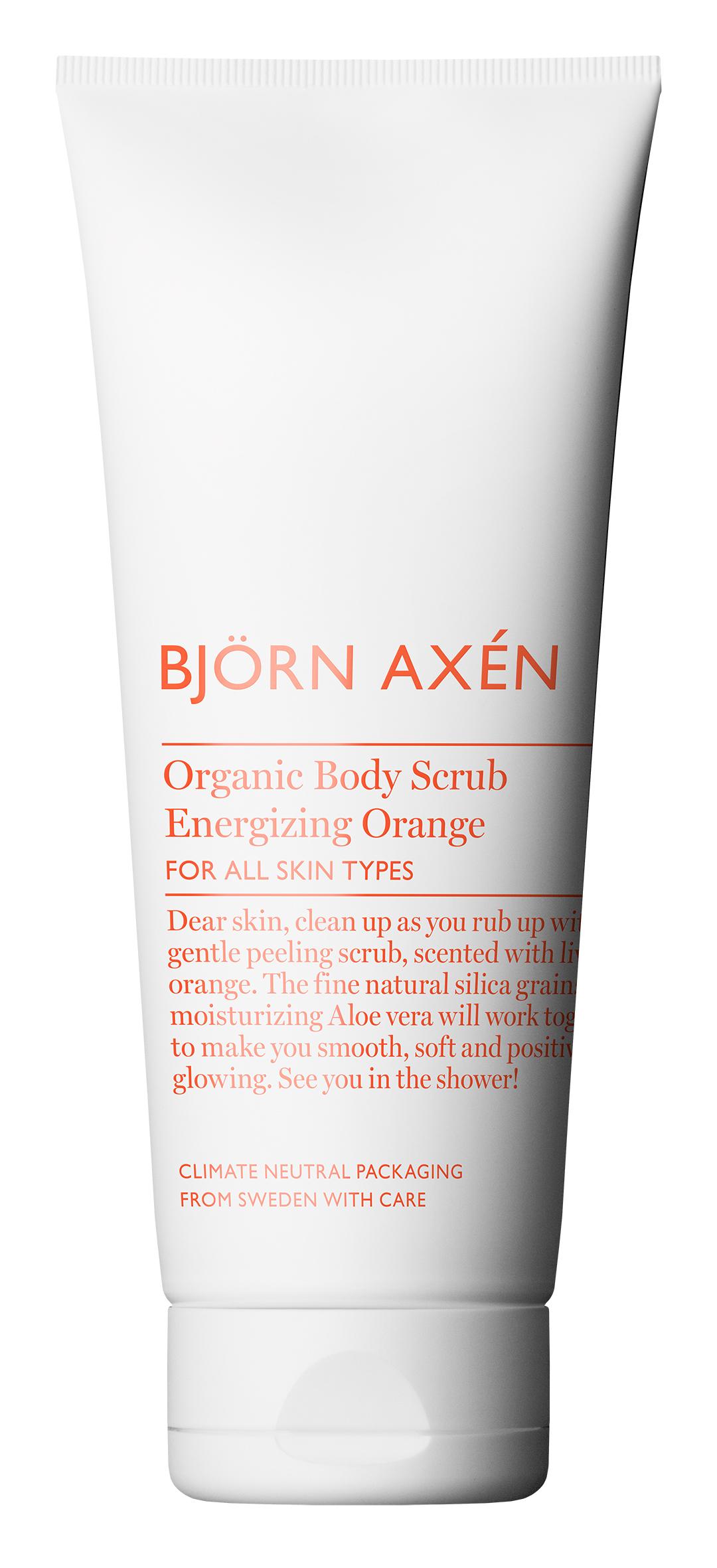 Organic Body Scrub Energizing Orange