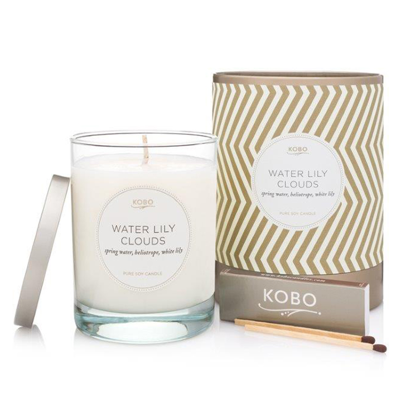 Aurelia/Water Lily Clouds Candle