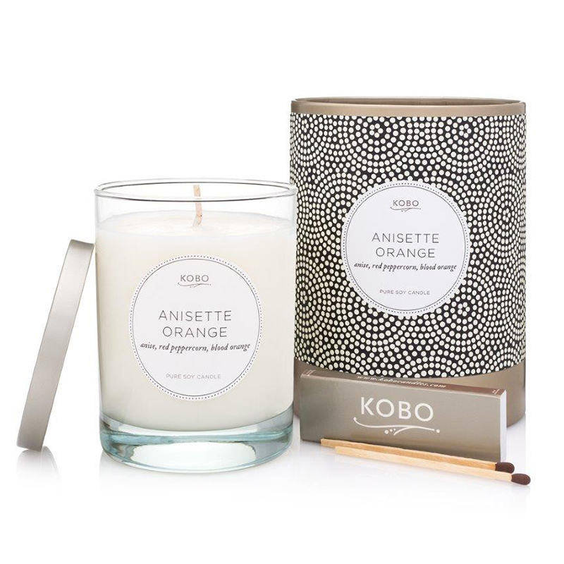 Coterie Collection Anisette Orange Candle