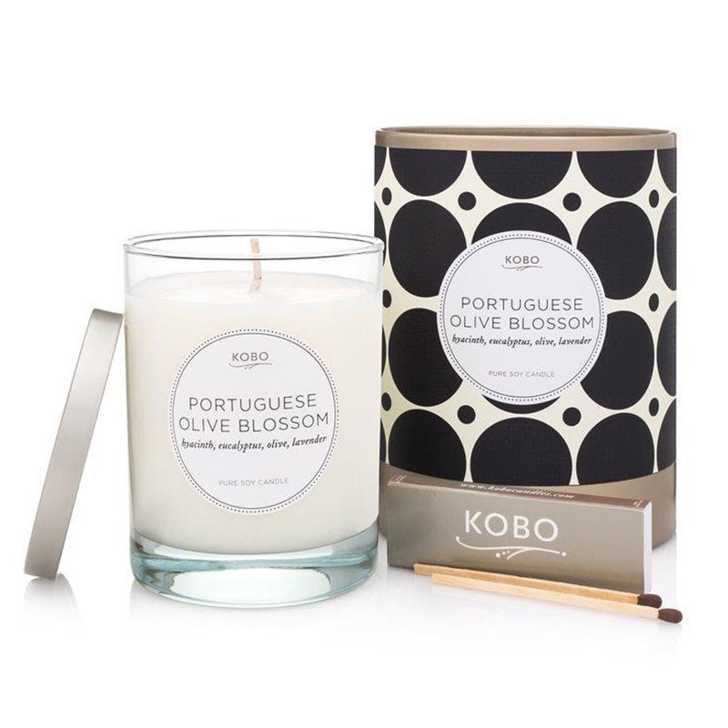 Coterie Collection Portuguese Olive Blossom Candle