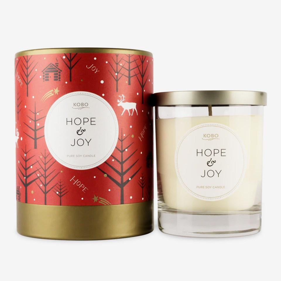 Candle Hope & Joy