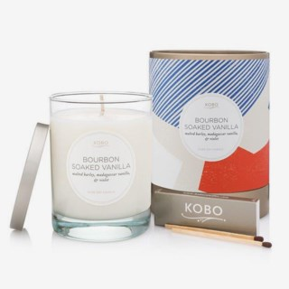 Natural math/Cashmere Valley Wood Candle