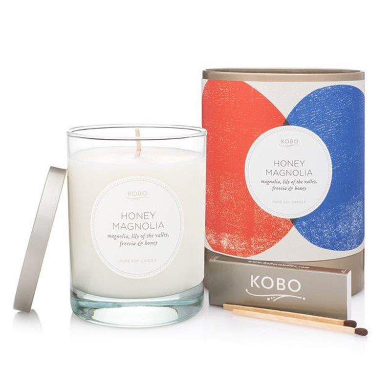 Natural math/Honey Magnolia Candle