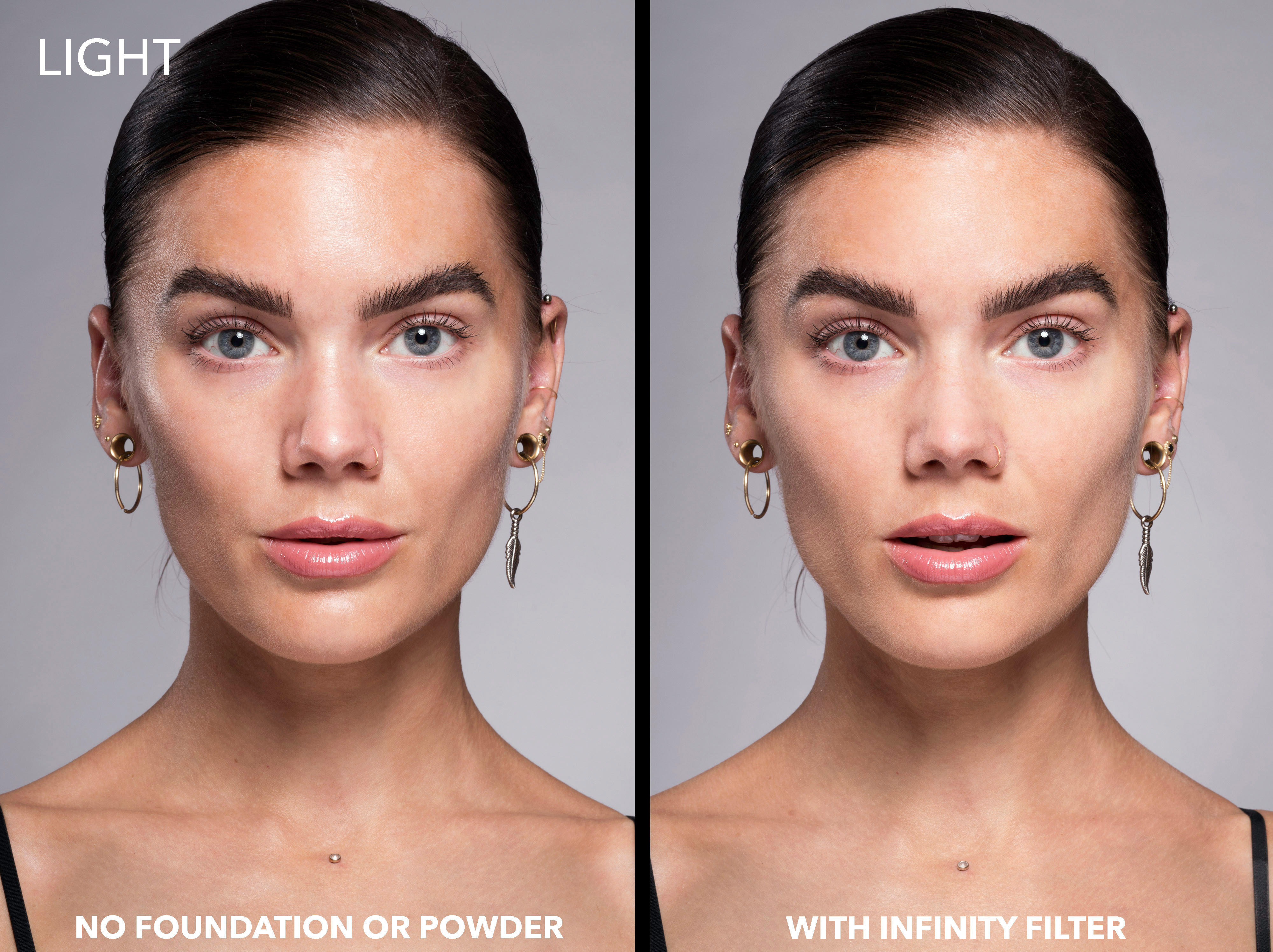 Infinity Filter Loose Setting Powder Light