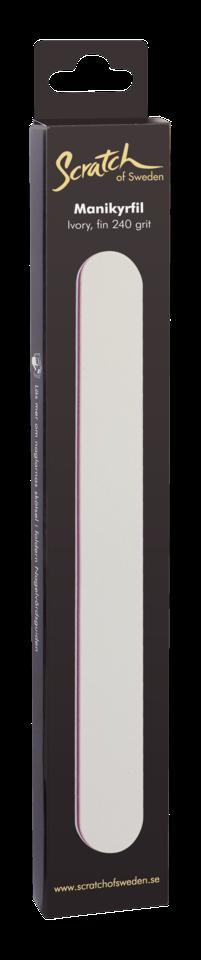 Manicure File Ivory