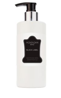 Black Label Hand & Body Lotion 300 ml
