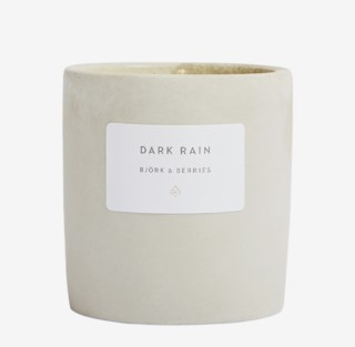 Scented Candle Dark Rain 200 g