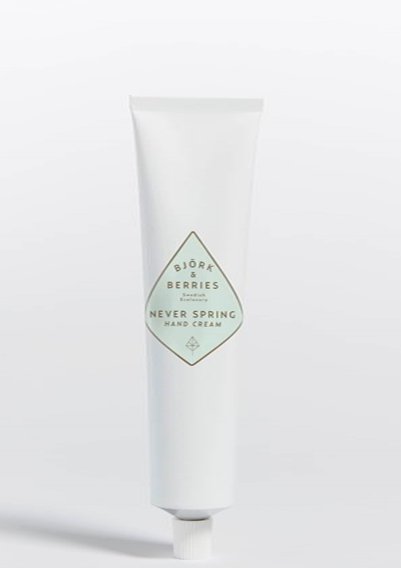 Björk & Berries Never Spring H Björk & Berries Never Spring Hand Cream tube:75 ml