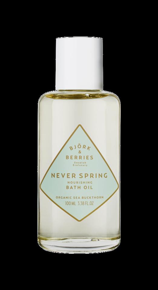 Never Spring Nourishing Bath Oil