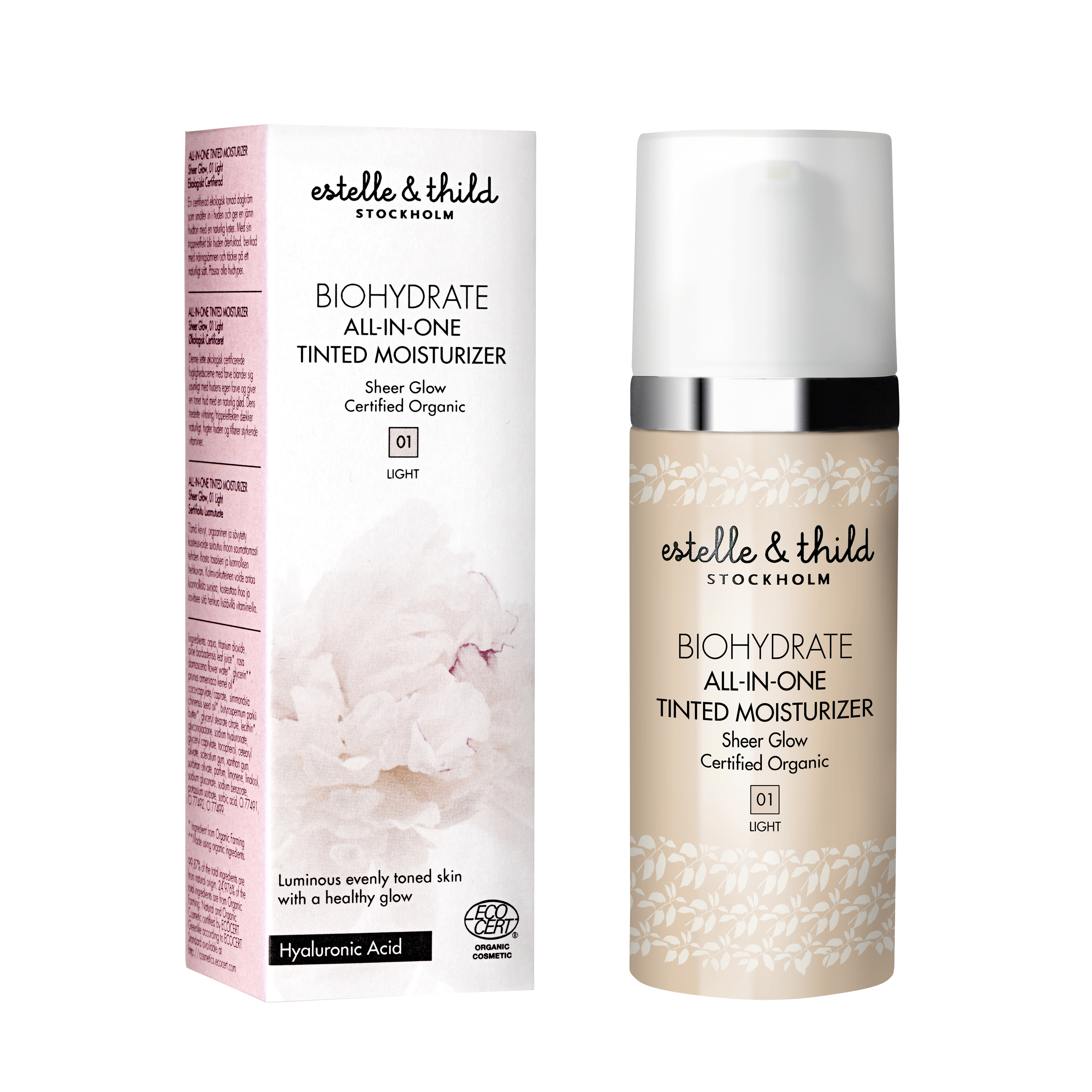 BioHydrate All-In-One Tinted Moisturiser 01 Light