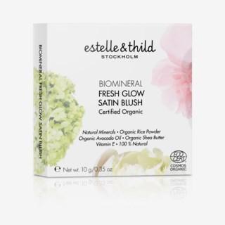 BioMineral Fresh Glow Satin Blush Dusty Rose
