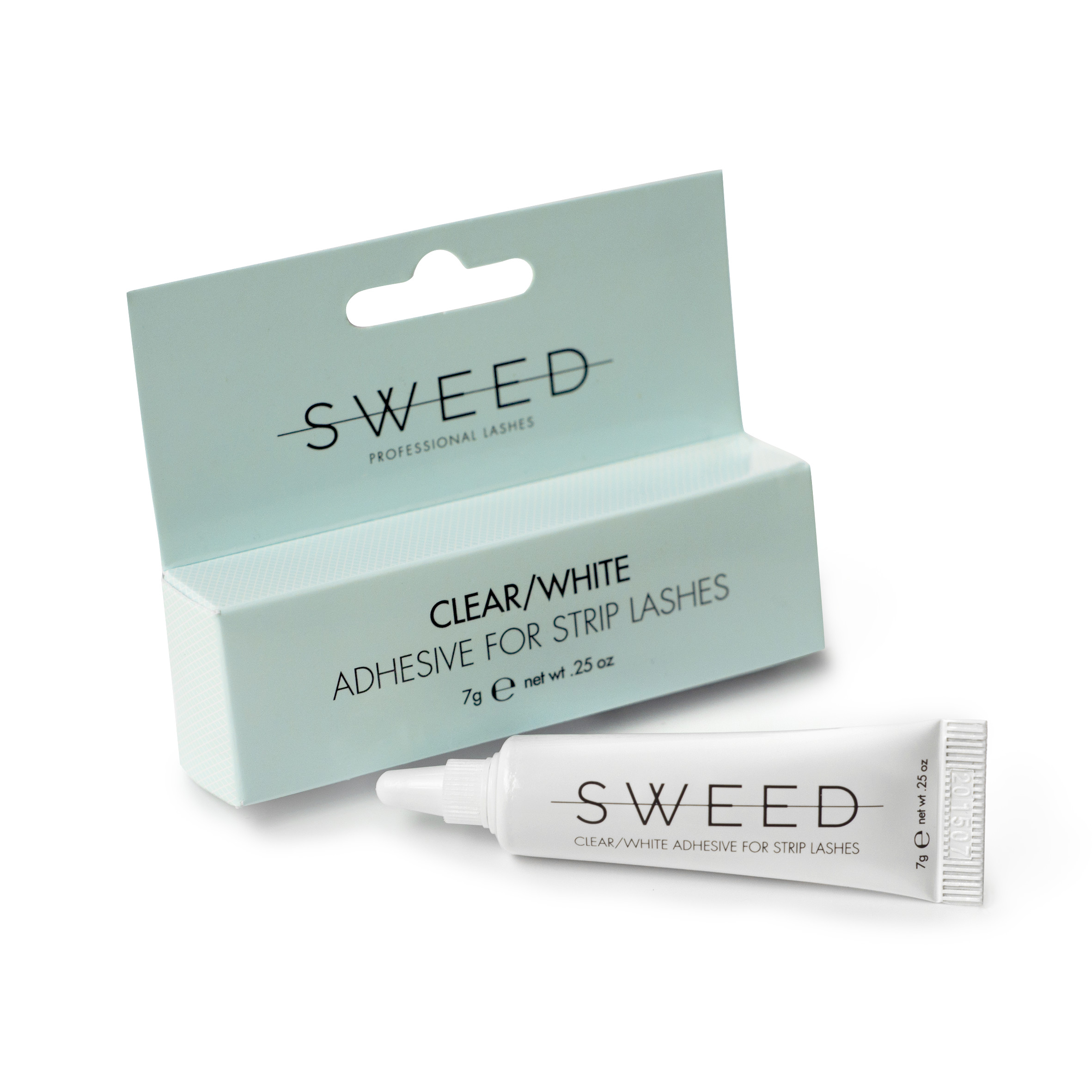 Adhesive for strip lashes Clear/White