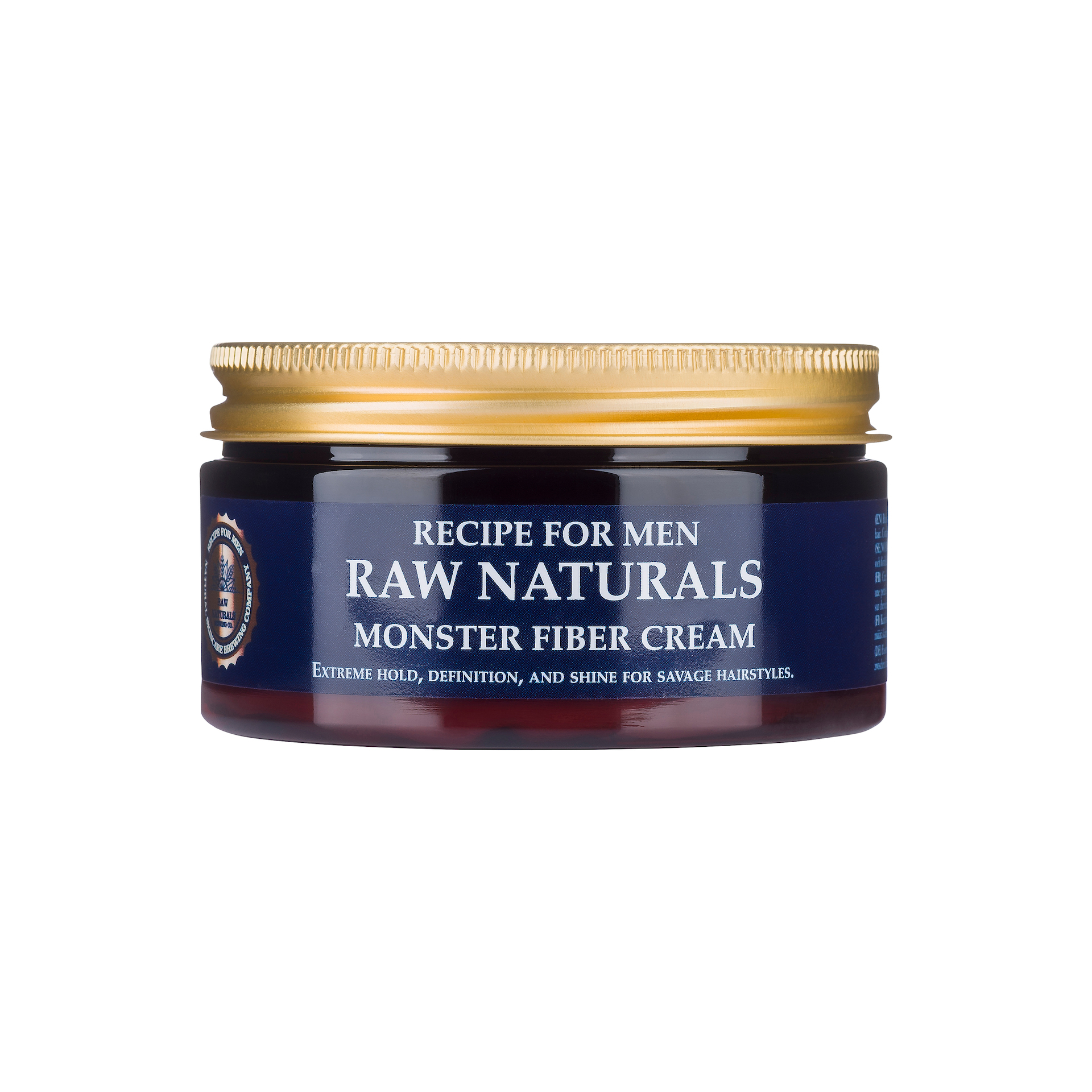 RAW Naturals Styling Wax Monst RAW Naturals Styling Wax Monster Fiber Cream:100 m